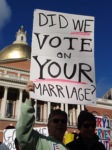 Human rights and gay marriage