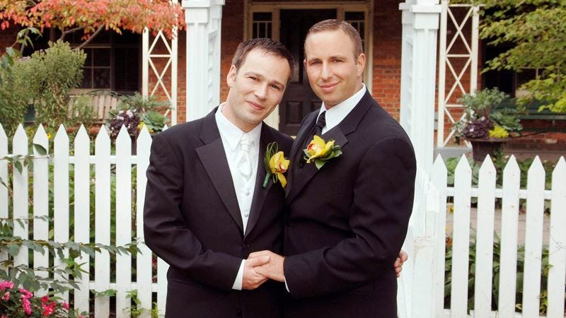 married Gay couples get