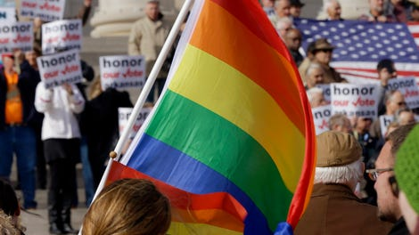 governor support Gay community florida