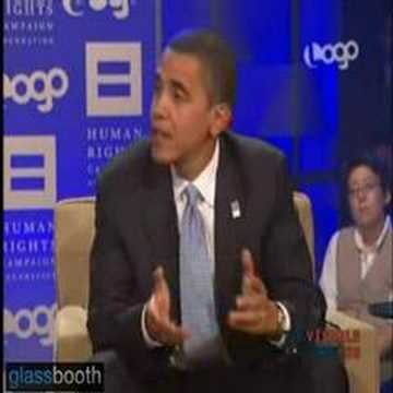Barack obama view on gay marriage