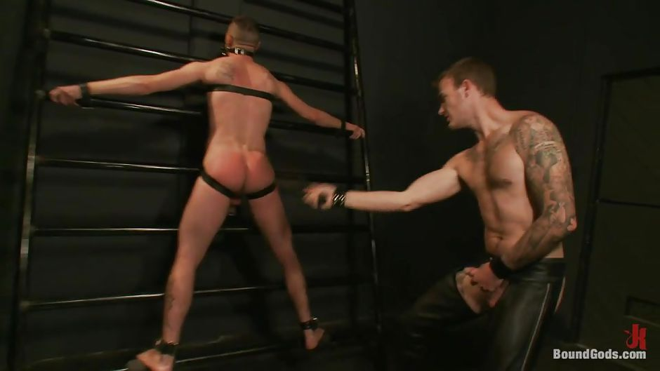 stripped whipped Gay