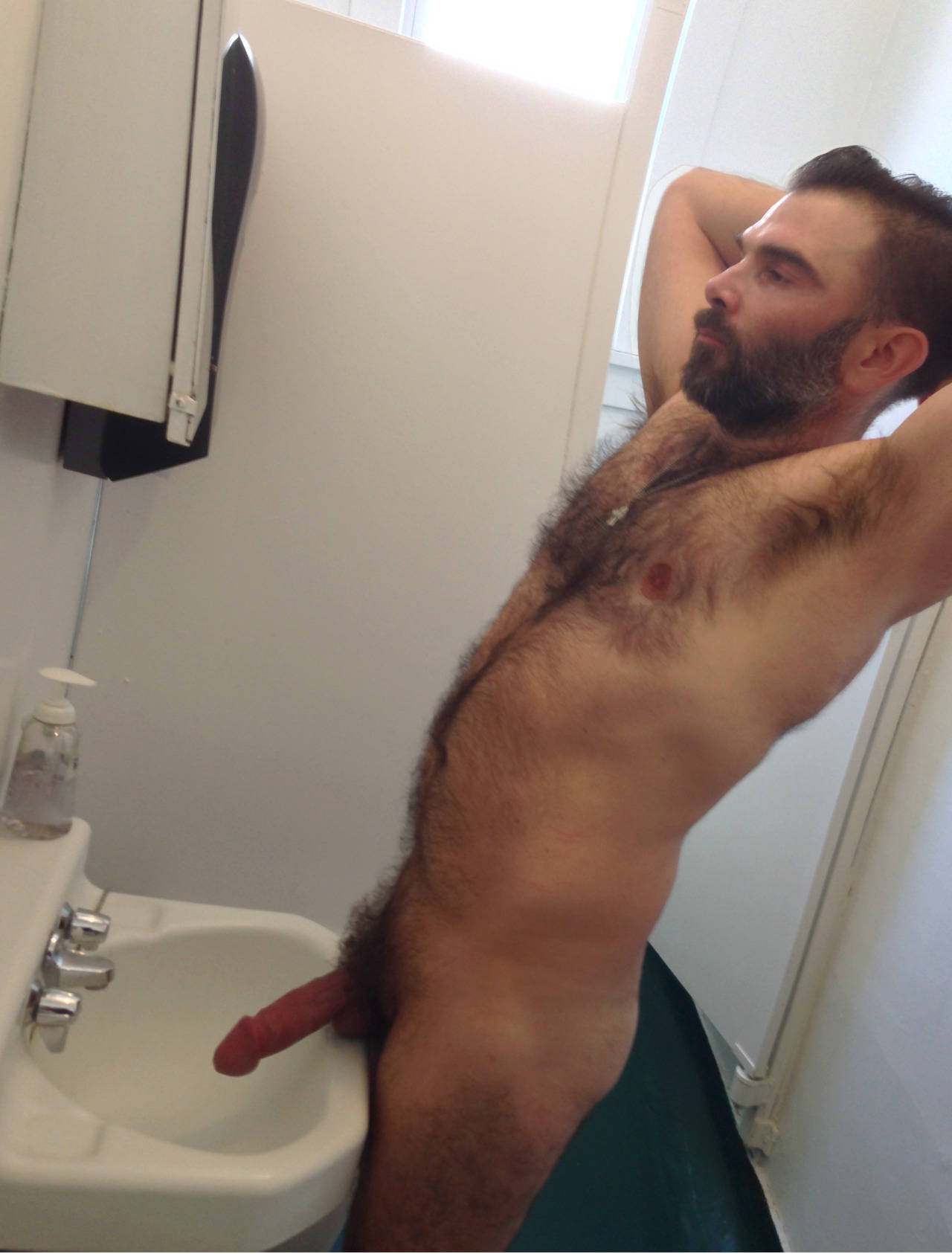 man Chest gay hairy