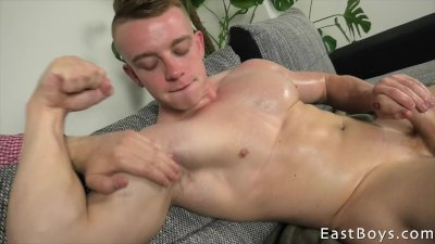 muscle Gay interracial