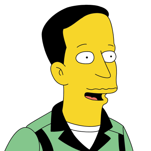 february character Simpsons 20 gay
