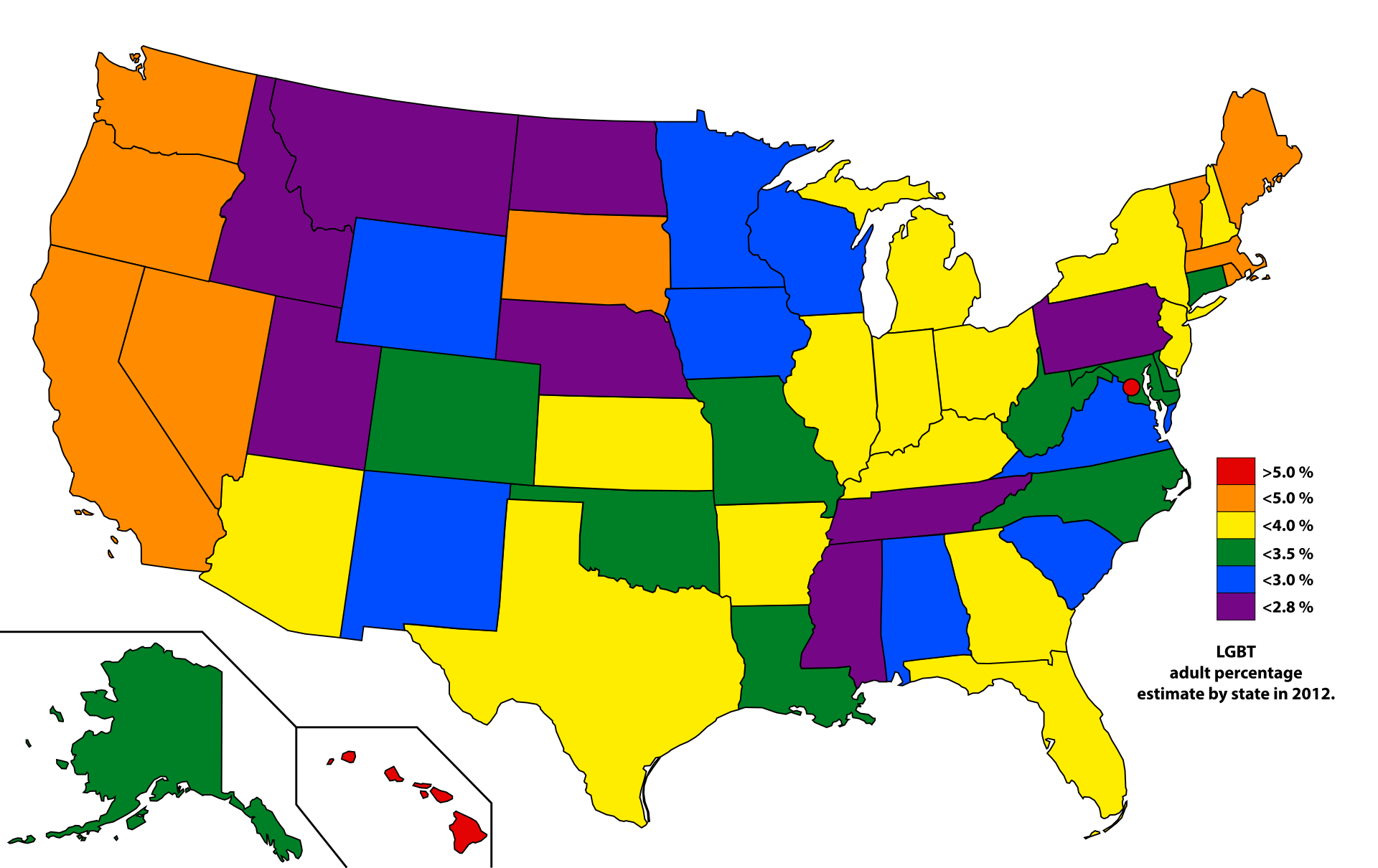 the Gay for population us census