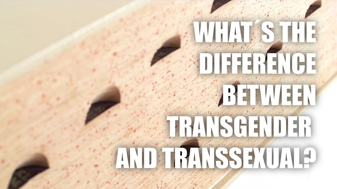 transgender and between Difference transsexual