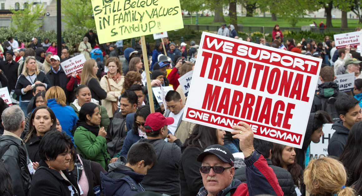 gay marriage opposing Article