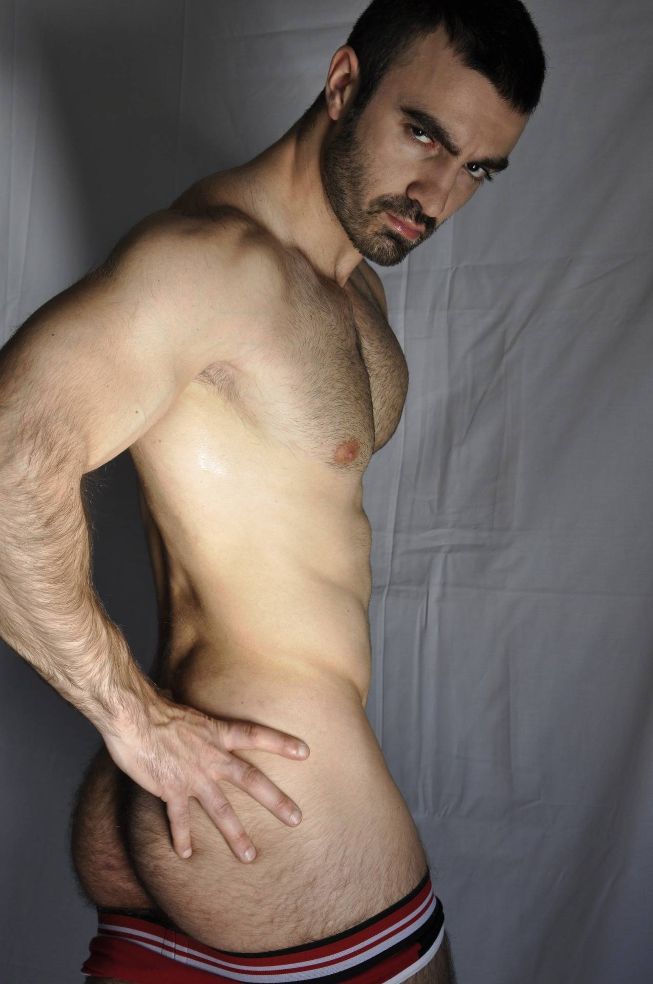 Ass gay hairy handsome naked