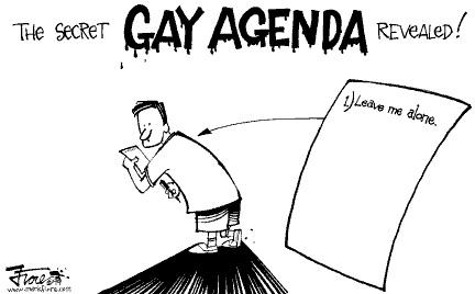 The gay agenda video