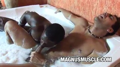 Gay interracial muscle