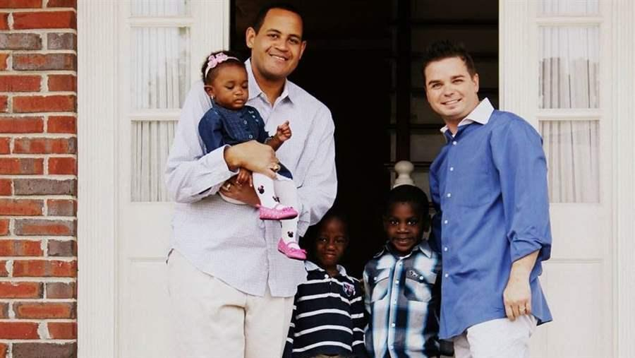 gay couples International adoption for